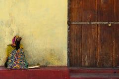 Kobiet odpoczywać Obraz Royalty Free