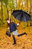 kobiet parasolowi potomstwa zdjęcie stock