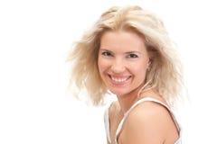kobiet piękni blond potomstwa Zdjęcia Royalty Free