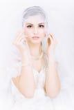 kobiet piękni potomstwa Obraz Royalty Free