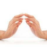 Kobiet ręki. obraz royalty free
