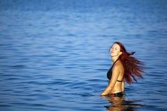 kobiet relaksujący denni potomstwa Fotografia Stock