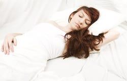 kobiet sypialni potomstwa Obraz Stock