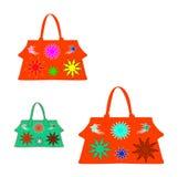 Kobiet ustalone torby   Obraz Royalty Free