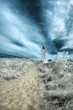 kobieta ścieżki Zdjęcie Royalty Free