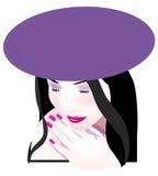 kobieta royalty ilustracja