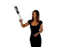 kobieta afrykańskiego gospodarczej Zdjęcie Royalty Free