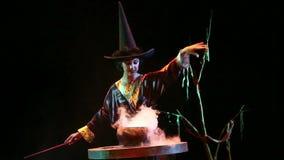 kobieta angażująca w magii zdjęcie wideo