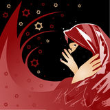 kobieta arabska Obraz Royalty Free