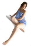 kobieta atłasowa Fotografia Stock