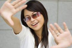 kobieta azjatykcia Zdjęcie Stock