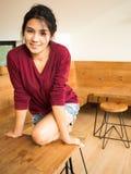 kobieta azjatykcia Zdjęcia Stock