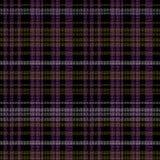 kobieta bezszwowy wzór - szkocki tartan ilustracji