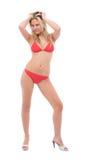 kobieta bikini Obrazy Royalty Free