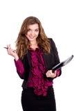 kobieta biurowy pracownik Zdjęcia Stock