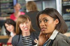 kobieta biznesowej niepokojąca Zdjęcie Stock