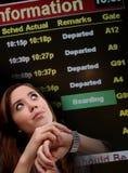 kobieta biznesowej podróży Obraz Stock