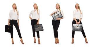 Kobieta bizneswoman w biznesowym pojęciu Obraz Stock
