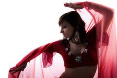 Kobieta brzucha tancerz Obraz Royalty Free
