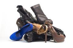 Kobieta buty fotografia stock