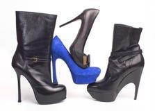 Kobieta buty fotografia royalty free