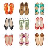 Kobieta buty Zdjęcie Royalty Free