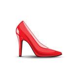 Kobieta buty Zdjęcia Stock