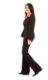 kobieta chodząca jednostek gospodarczych Fotografia Royalty Free