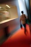 kobieta chodząca Obrazy Stock