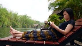 kobieta czytelnicza azjaci księgowa zdjęcie wideo