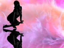 kobieta dreamstate Zdjęcie Royalty Free