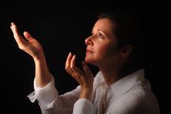 kobieta duchowa zdjęcie stock