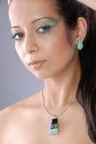 kobieta duszna arabska Fotografia Royalty Free