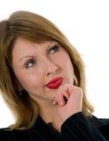 kobieta ekspresyjna fotografia stock