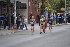 Kobieta elita biegaczów NYC maraton Zdjęcie Royalty Free