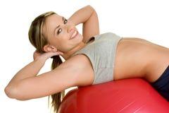 kobieta fizycznej fitness Obrazy Stock