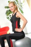 kobieta fizycznej fitness Obraz Royalty Free