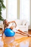 kobieta fizycznej fitness Fotografia Stock
