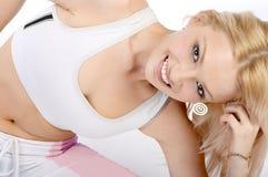 kobieta fizycznej fitness Obraz Stock
