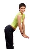 kobieta fizycznej fitness zdjęcia royalty free