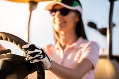 kobieta golfowa grać Obrazy Stock