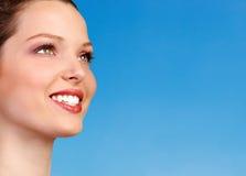 kobieta gospodarczej uśmiechnięta Obrazy Stock