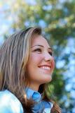 kobieta gospodarczej uśmiechnięta Obrazy Royalty Free