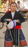 Kobieta Hmong Sapa, Lao Cai Obrazy Royalty Free
