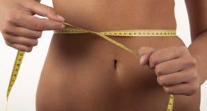 Kobieta i dieta Fotografia Royalty Free