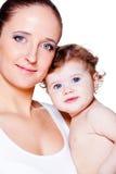 Kobieta i dziecko fotografia stock