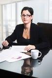 kobieta interesu biura Zdjęcie Stock