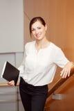 kobieta interesu biura Obrazy Royalty Free