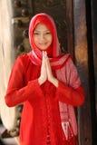 kobieta islamu Ramadan Fotografia Royalty Free