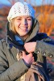 kobieta ja target639_0_ kobieta Fotografia Stock